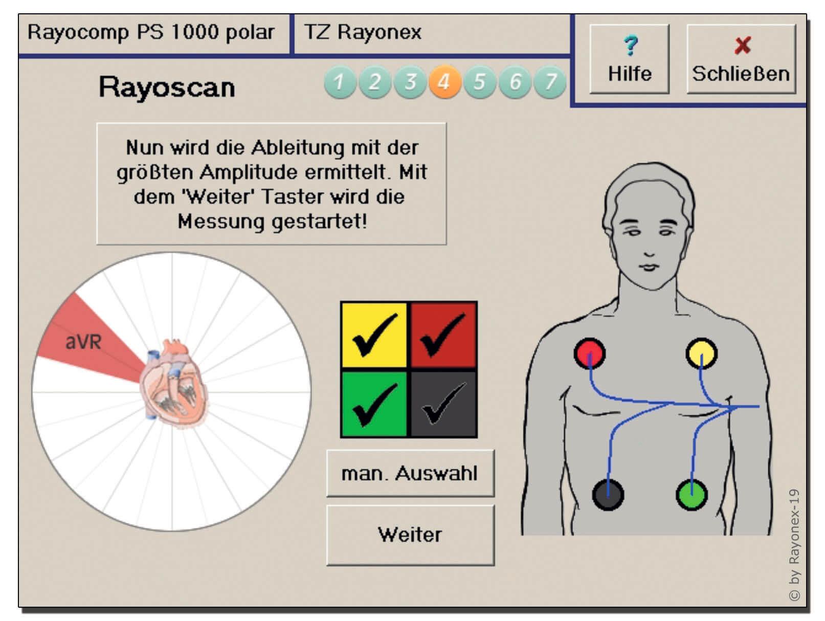Bioresonanzbehandlung nach Paul Schmidt Rayonex 4