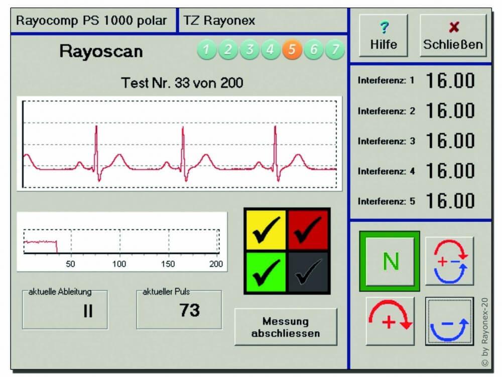 Bioresonanz nach Paul Schmitt Rayonex