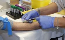 Blutabnahme Labor