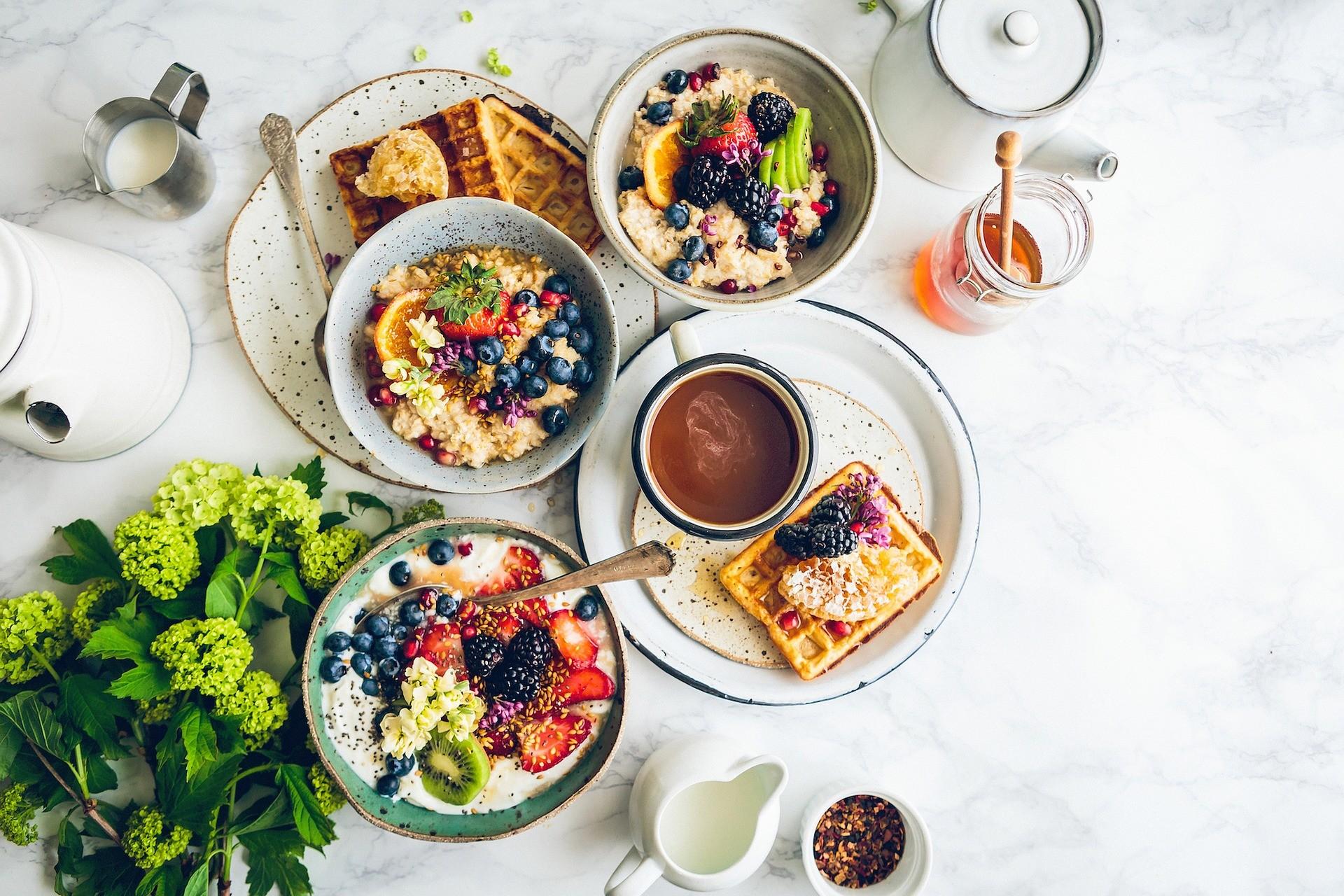 Ernährung mit guten Lebensmitteln