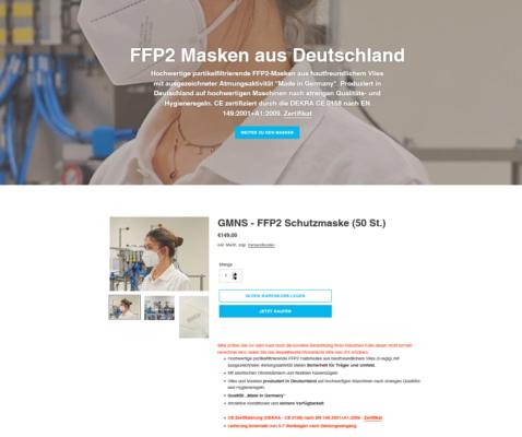 Gehring Atemschutzmasken - FFP2