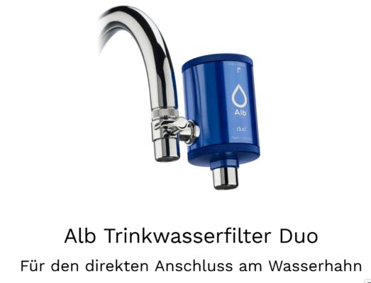 Wasserhahnfilter ✪ made in Germany » Jetzt testen Alb Filter®