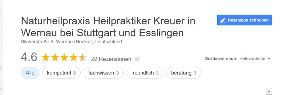heilpraktiker kreuer - Google Suche Schritt 2