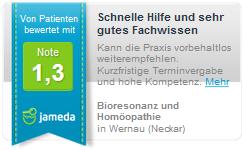 Jameda Heilpraktiker Kreuer [seit 1992] Praxis Wernau bei Stuttgart